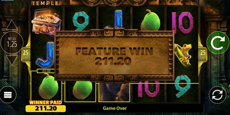 Kongs temple gameplay
