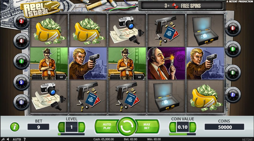 Reel Steal Gameplay