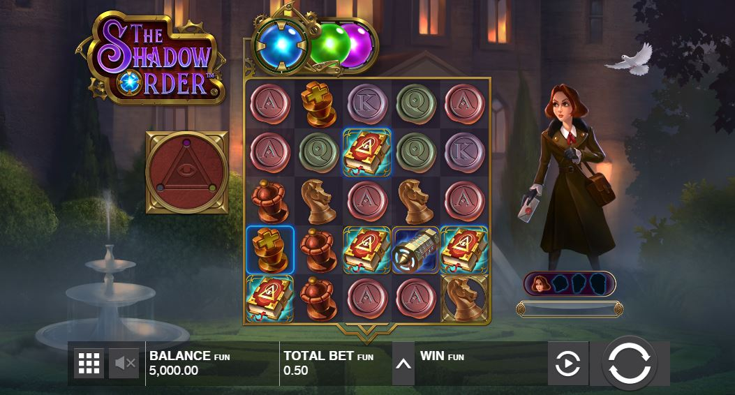 The Shadow Order Slot Review - RTP, Features & Bonuses