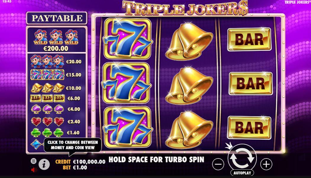 Triple Jokers Gameplay