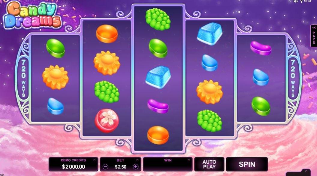 candy dreams gameplay