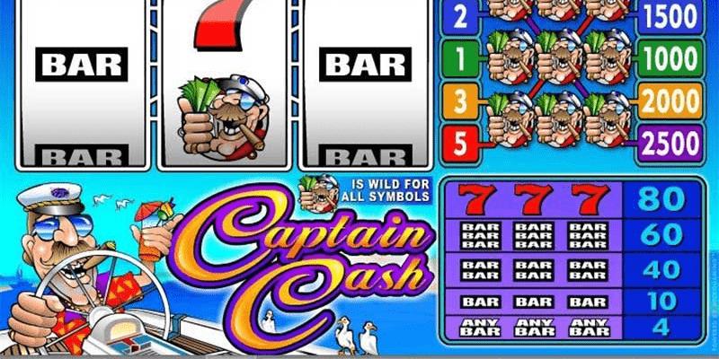 Captain Cash Slot Review – RTP, Features & Bonuses