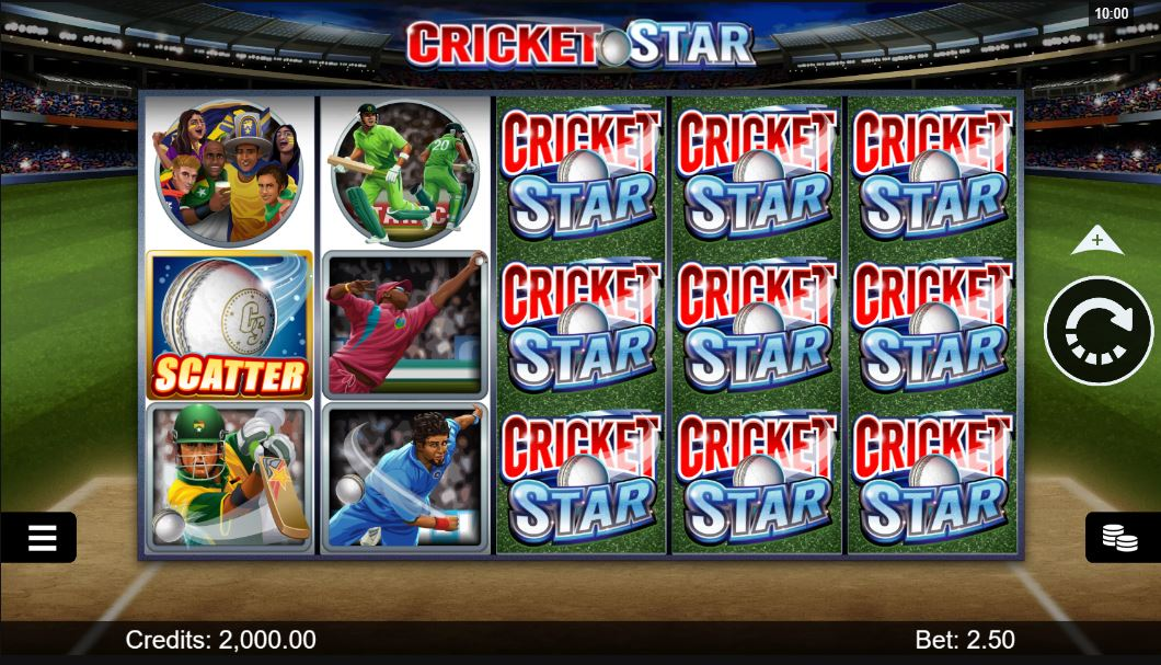 cricket star gameplay