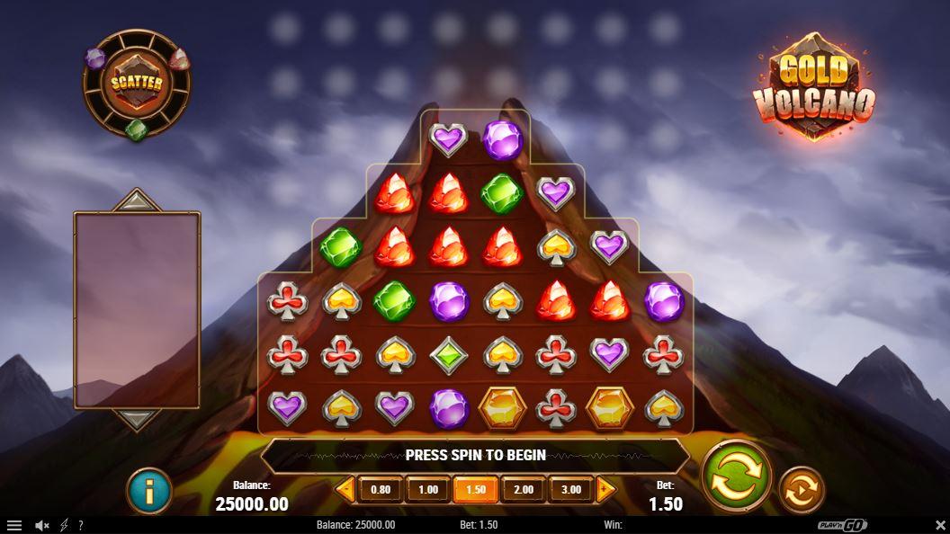 gold volcano gameplay