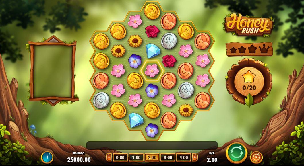 honey rush slot gameplay