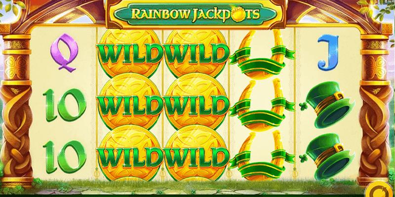 rainbow jackpots gameplay