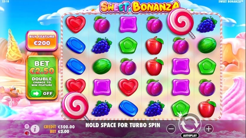 sweet bonanza slot gameplay
