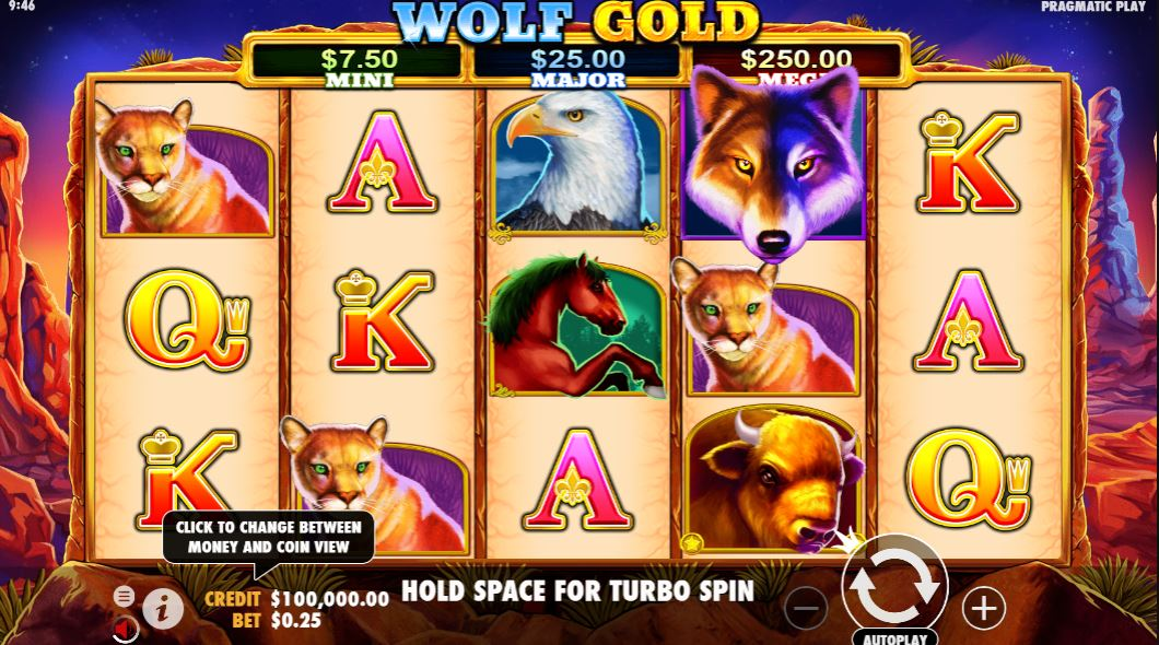 wolf gold gameplay