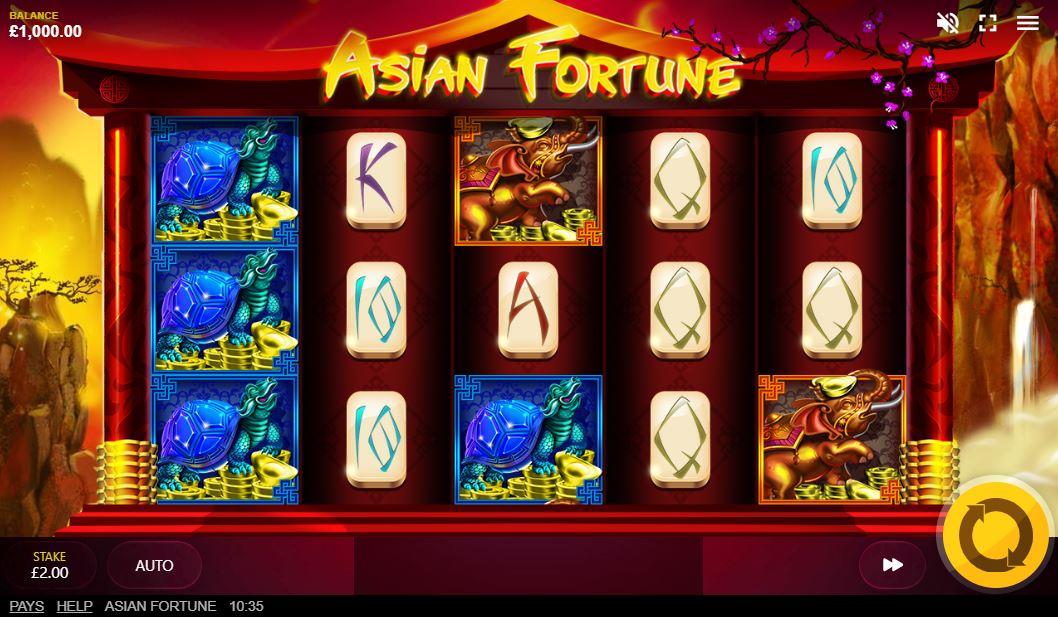 Asian Fortune Slot Gameplay