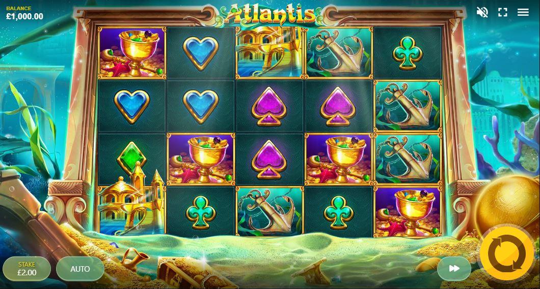 Atlantis Slot Gameplay