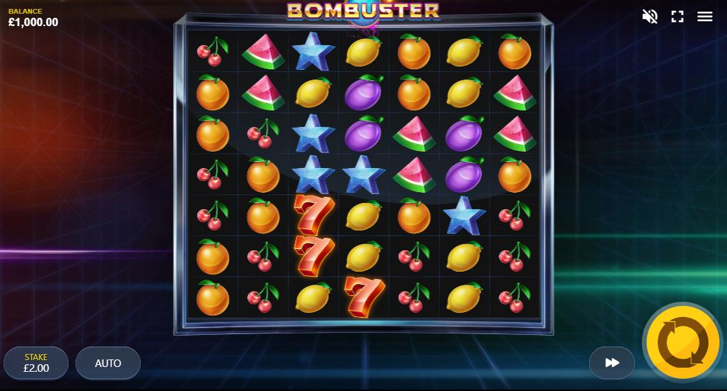 Bombuster Slot Gameplay