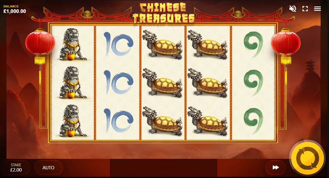 Chinese Treasures Gameplay