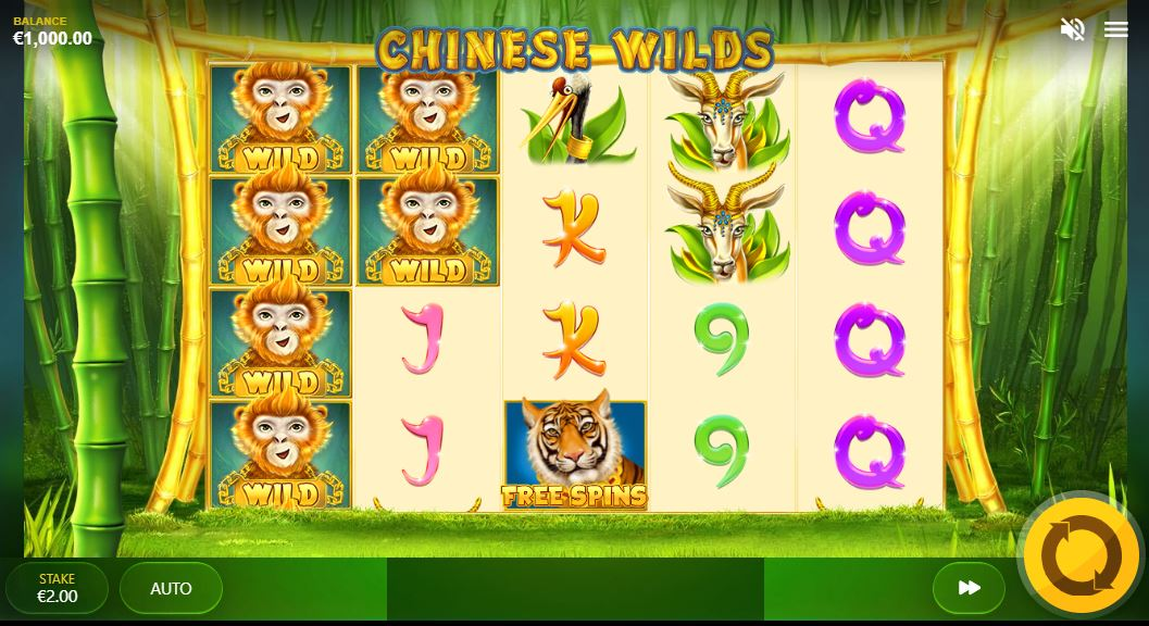 Chinese Wilds Gameplay