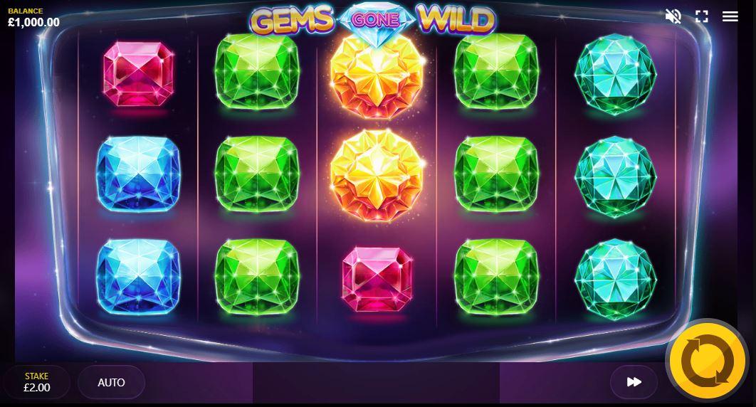 Gems Gone Wild Gameplay