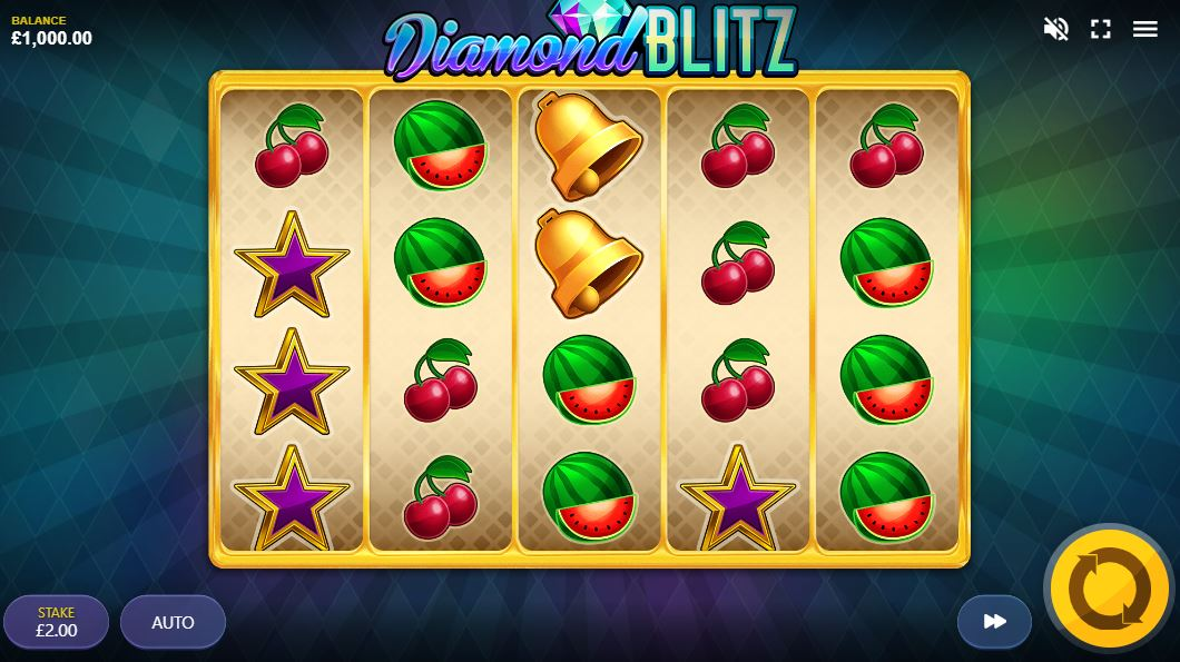 Diamond Blitz Slot Gameplay