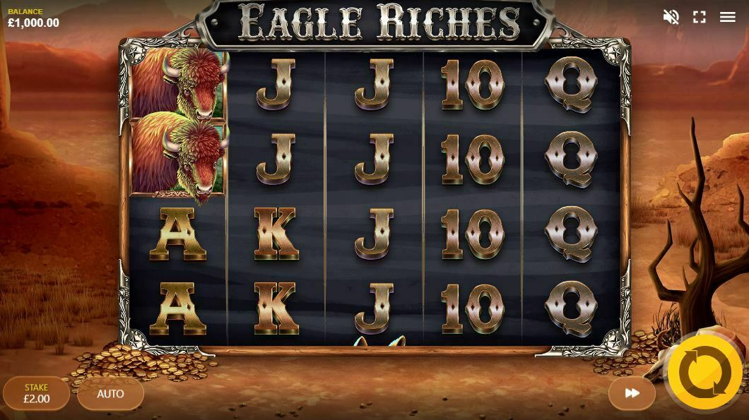Eagle Riches Slot Gameplay