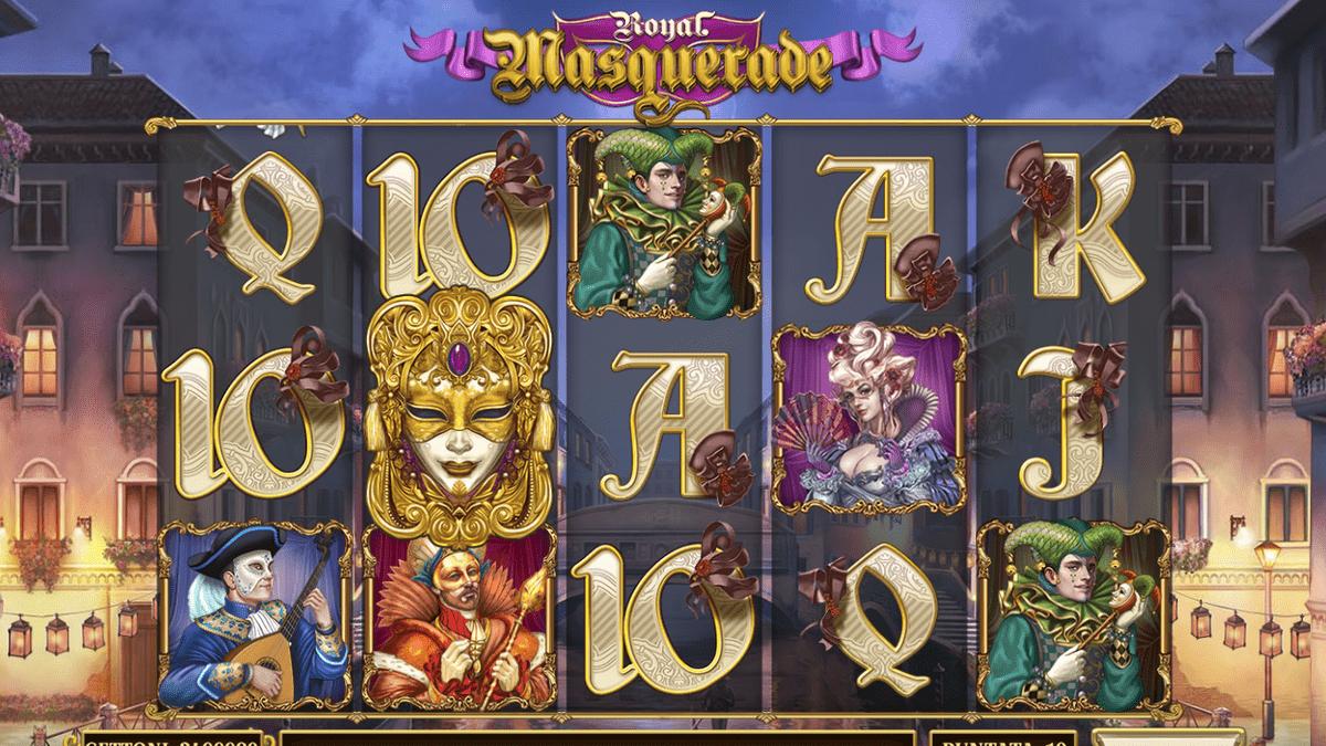 Masquerade Slot Screen Shot