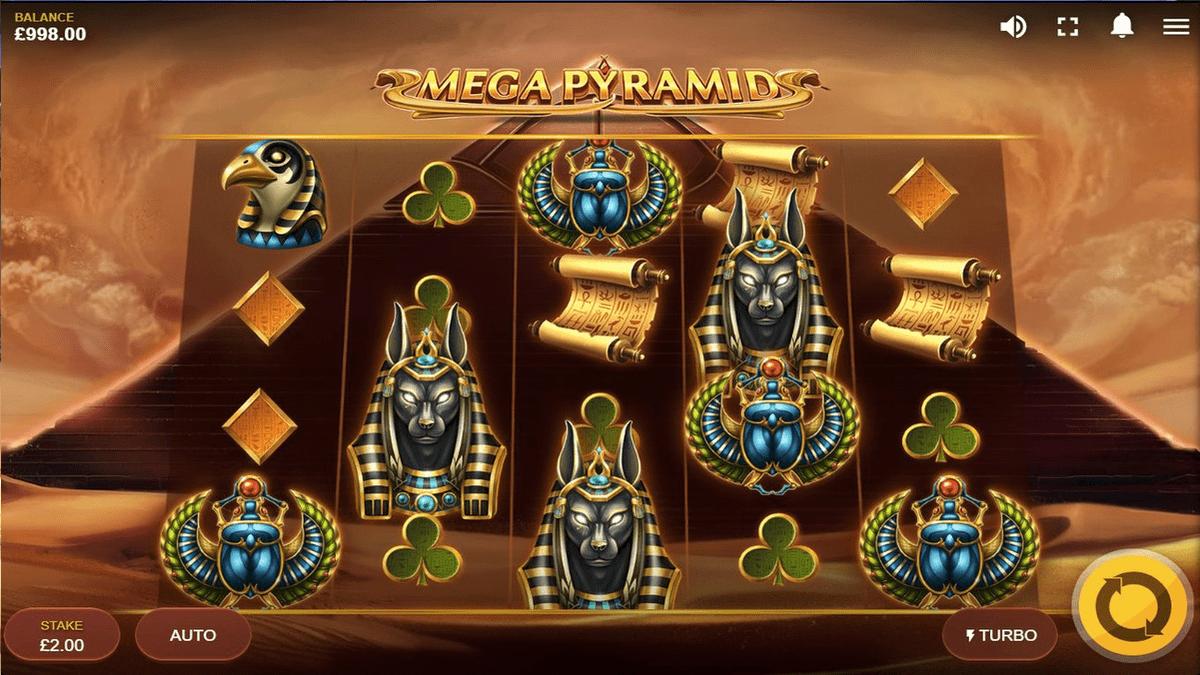 Mega Pyramid Slot Screenshot