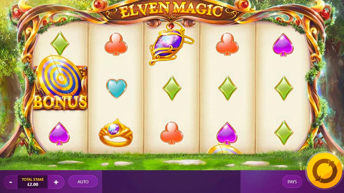 elven magic slot screenshot
