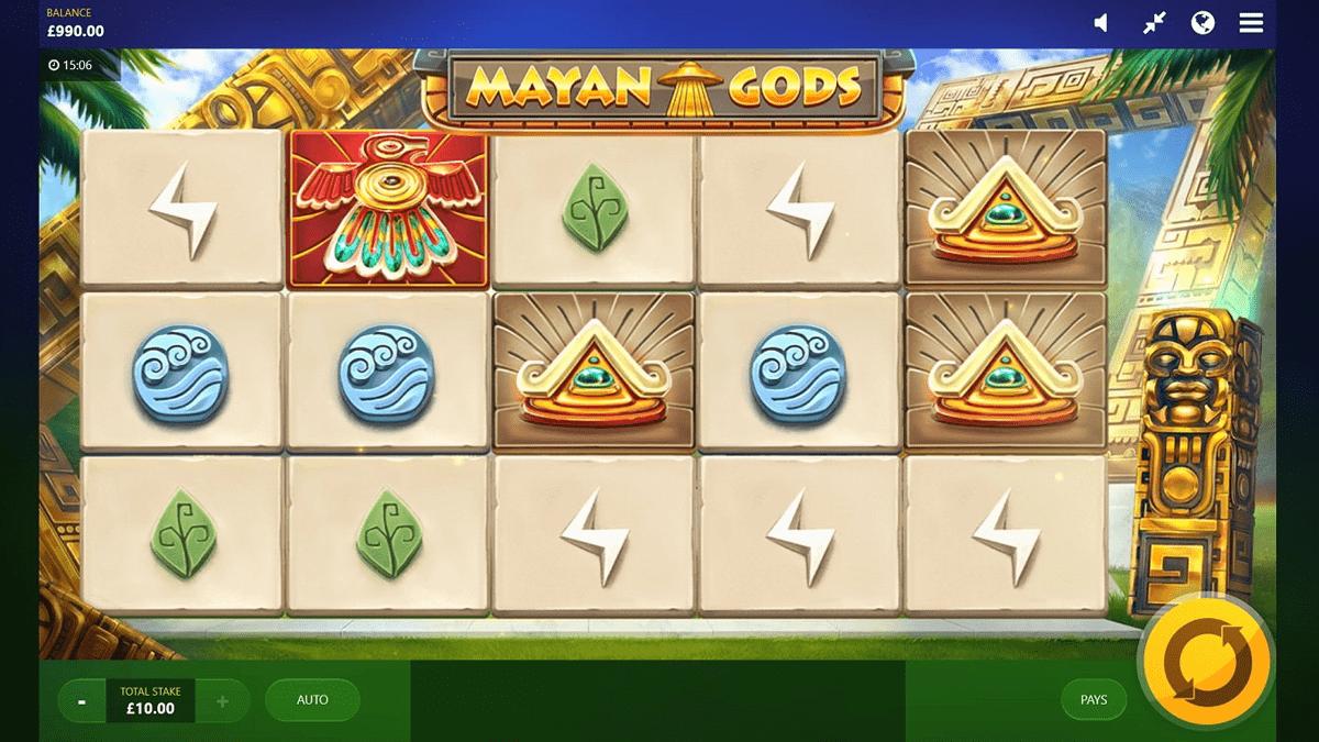 mayan god slot screenshot